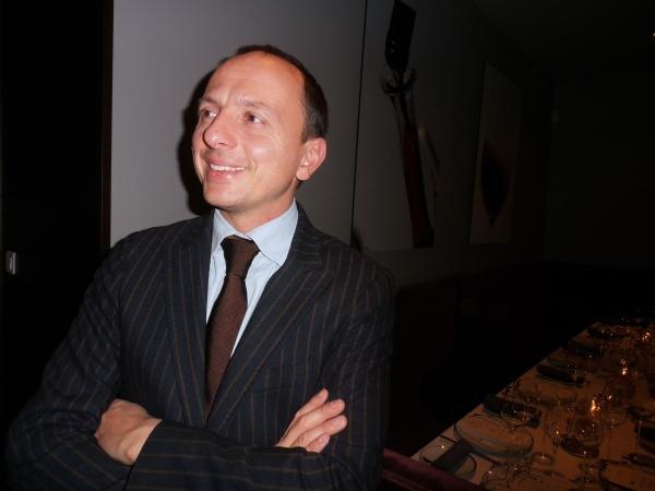 Enrico Bernardo, Meilleur Sommelier du Monde 2004 (Photo©MichelSmith)