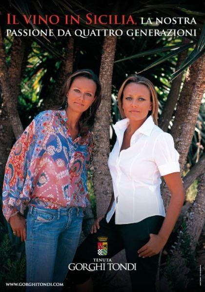 Annamaria et Clara, les deux soeurs de Gorghi TondI (Photo DR).