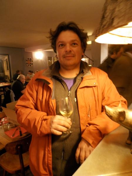 Pierre Michelland, de la Réaltière. Ses vins sont aussi souriants que lui ! Photo©MichelSmith