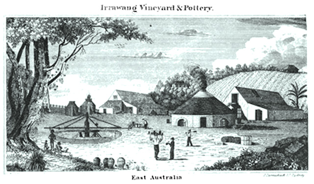 Carmichael_Irrawang_Vineyard_and_Pottery_1839