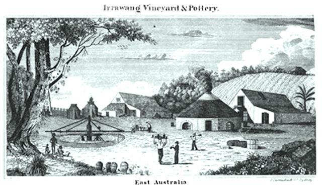 Carmichael_Irrawang_Vineyard_and_Pottery_1839