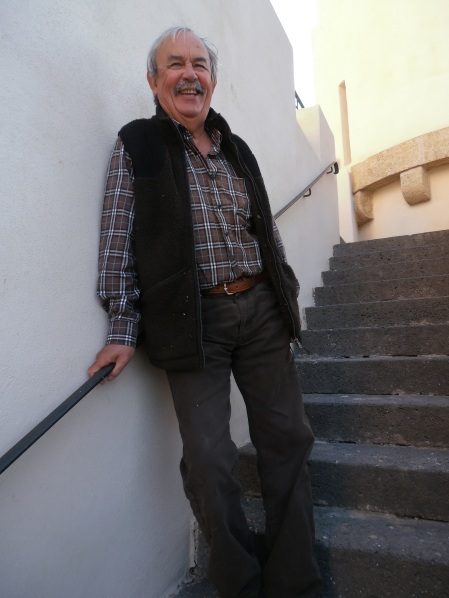 Guy Bascou, le président heureux de l'AOP Picpoul de Pinet. Photo: Michel Smith