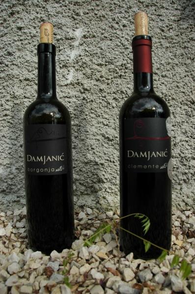 bottles of Damjanic