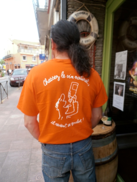 Un militant du vin nature, tel est Patrice Delthil. Photo©MichelSmith