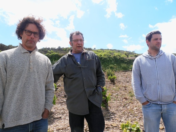 De gauche à droite : John Bojanowski, Jean-Marie Rimbert et Julien Gil. Photo©MichelSmith