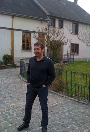 Pascal Agrapart, vigneron ‡ Avize, exporte 65% de sa production des champagnes. Photo Agnieszka Kumor