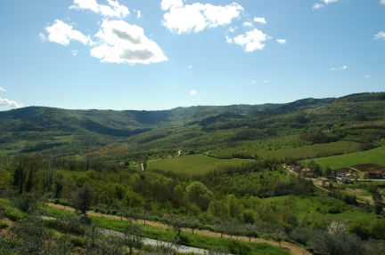 paysage d'Istrie