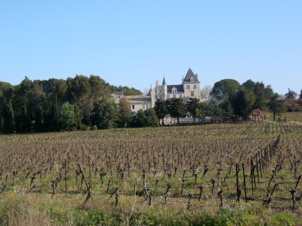 Château Les Carrasses. Photo©MichelSmith