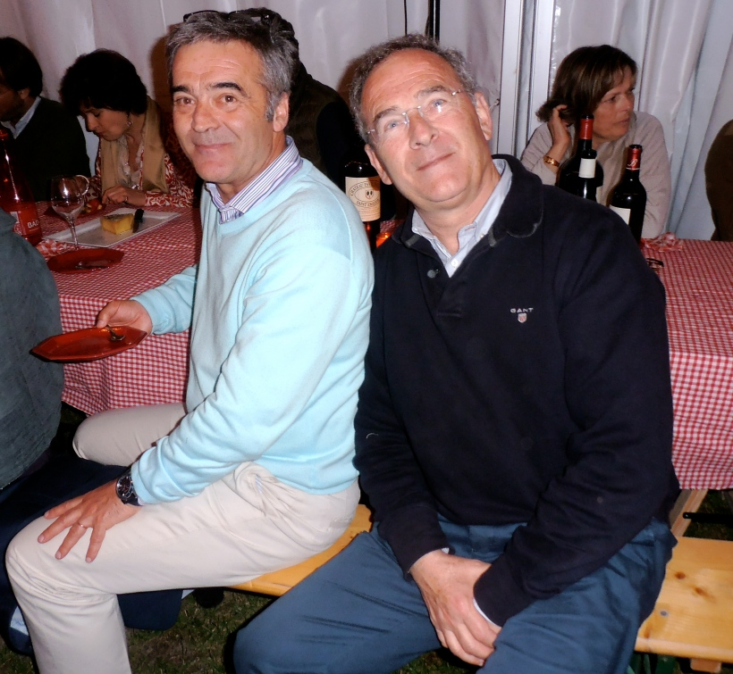 François et Nicolas Thienpont. Photo©MichelSmith