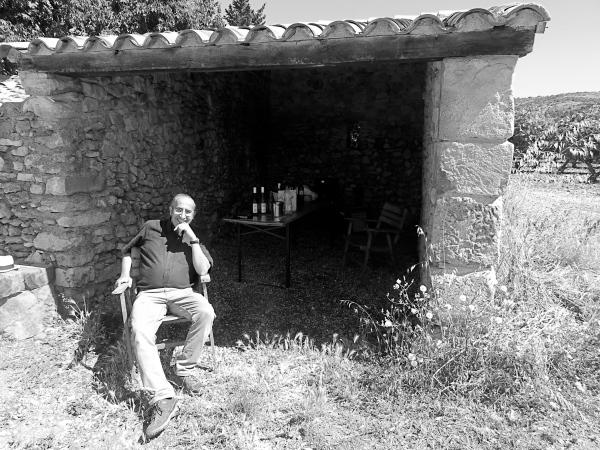 Une pause avant la dégustation des vins. Photo©MichelSmith