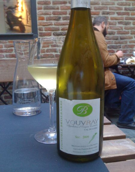 4. Un Vouvray ample et fruité. Photo Agnieszka Kumor