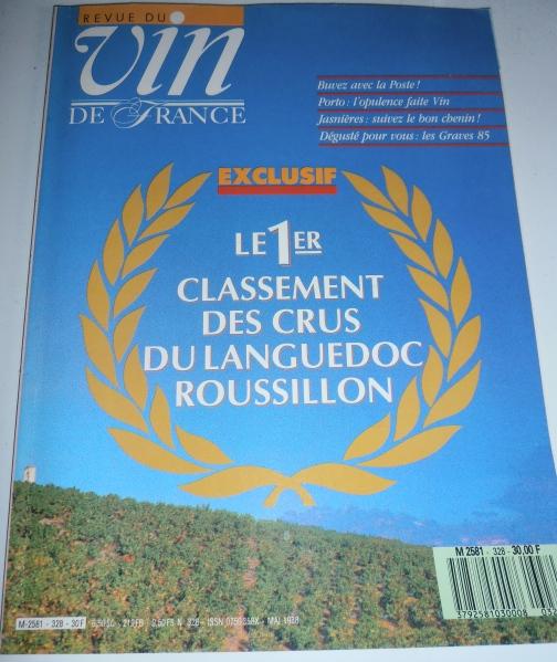 Première tentative de classement des vins du Languedoc-Roussillon en 1988. Photo©MichelSmith