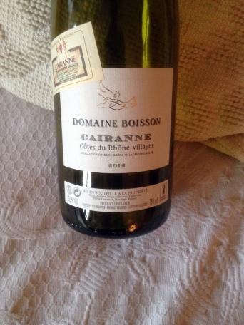 Cairanne Blanc Boisson