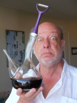 Si Dali voyait ça ! Quand le Belge Patrick Fiévez s'amourache de vieilles vignes de Grenache noir… Photo©MS