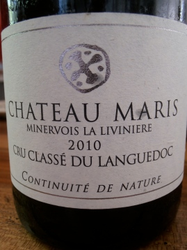 La grande cuvée de Maris. Photo©MichelSmith