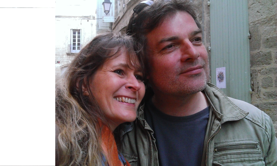 Nathalie et Olivier Lebaron. Photo©MichelSmith