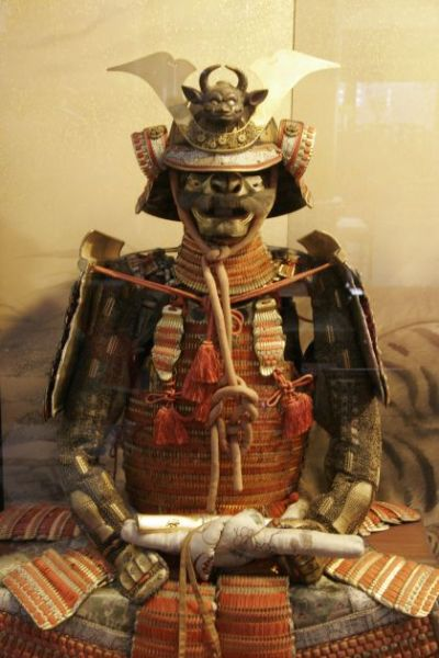 1. L'armure de samouraï dans le monastère de Mont Koya. Photo Agnieszka Kumor