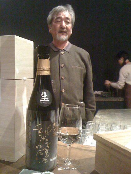 2. Toshiro Kuroda lors d'une dégustation avec l'Association de la Presse Etrangère. Photo Agnieszkz Kumor