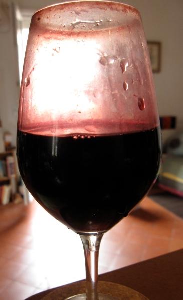 """""""Mon"""" verre de dégustation... Jamais lavé, toujours rincé ! Photo©MichelSmith"""