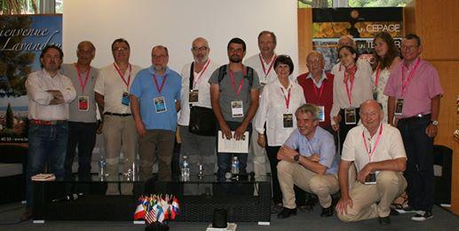 Les participants... enfin, une partie. Photo©DR