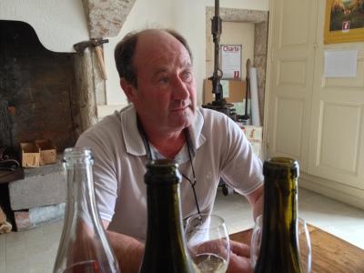 Luc Delhumeau, Domaine de Brizé