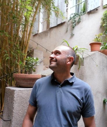 Laurent Pratx, heureux vigneron. Photo©MichelSmith