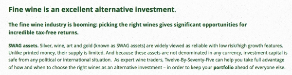 Fine Wine Booming