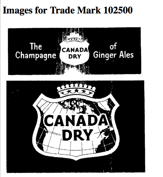 Canada Dry – the Champagne of Dry Ginger