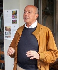 Paolo Valdastri, notre guide sur Bolgheri. Photo©MichelSmith