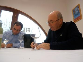 Damien Roux et François Peyraud au boulot ! Photo©MichelSmith