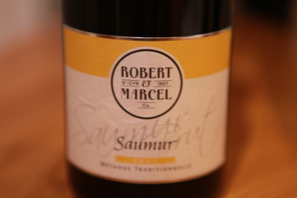 Robert et Marcel, Saumur – named after Robert and Marcel Néau, who played a big part in establishing the Cave Coop de St Cyr – now the majority owner of Alliance Loire and thus Ackerman. 80% Chenin, 20% Chardonnay