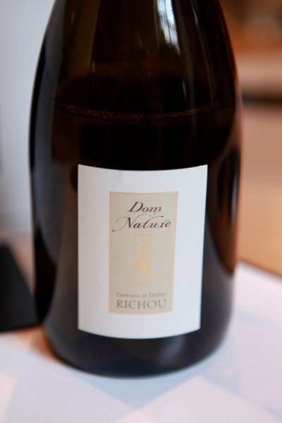 Dom Nature, Domaine Richou, Majority Chardonnay