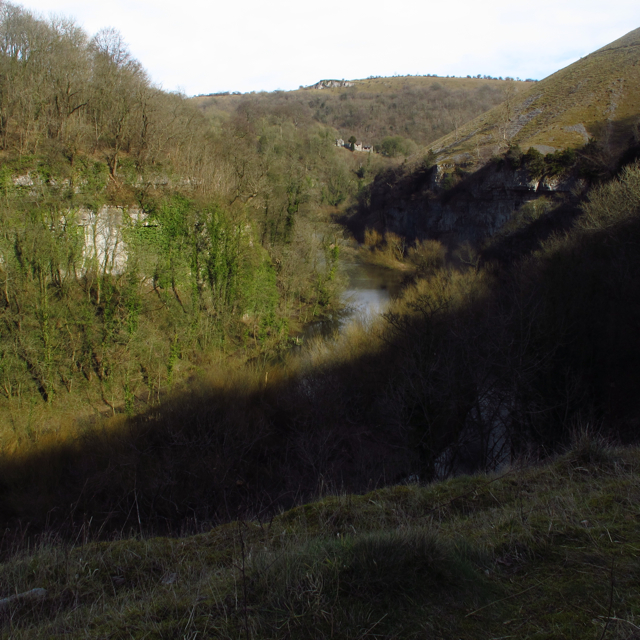 The Wye Valley path of the Monsal Trail