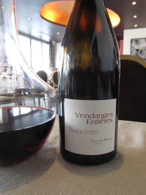 The brilliant 2009 Vendanges Entires from Vincent Pinard.