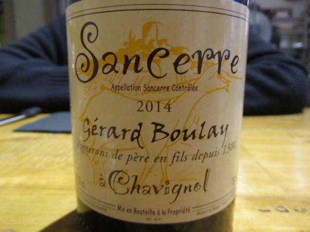 2014 Sancerre Gérard Boulay
