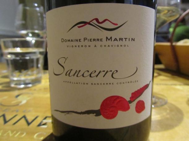 2013 Sancerre Rouge Domaine Pierre Martin