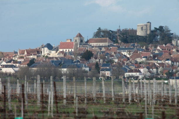 Sancerre from the west.