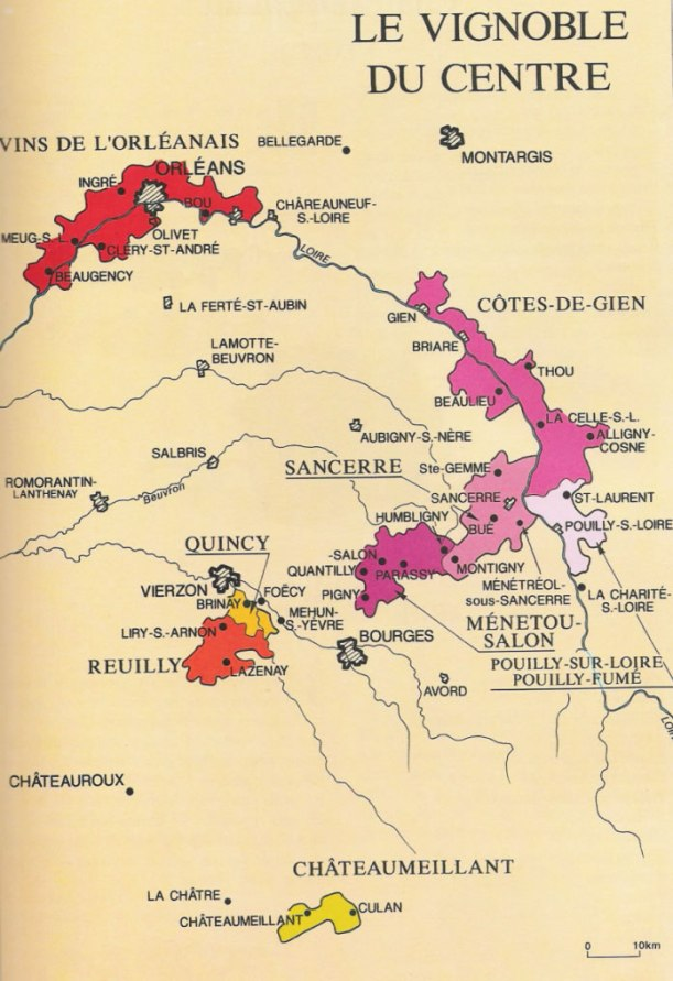 Vignoble_du_Centre_Carte