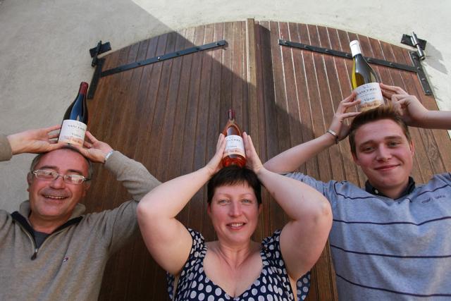 The Joulin celebrating the 2014 vintage.