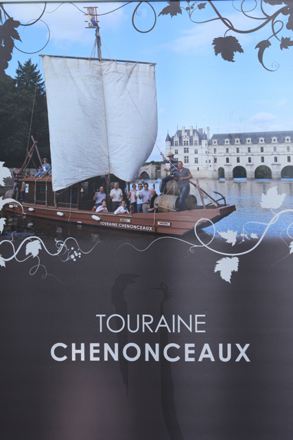 Wines from new AC Touraine-Chenonceaux on show last year