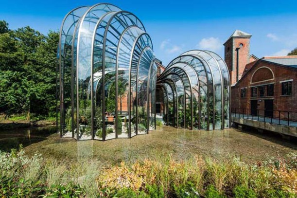 The-botanical-glasshouses-designed-by-Thomas-Heatherwick-and-Heatherwick-Studios-taking-centre-stage-at-Laverstoke-Mill2