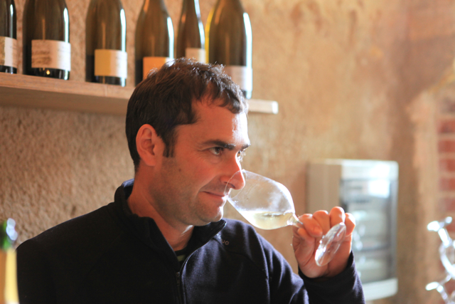 Vincent Carême, who kindly organised my day, and whose 2013 Cuvée Ancestrale and 2012 Le Clos Vouvray Sec were stand outs.
