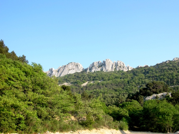 Les Dentelles. Photos©MichelSmith