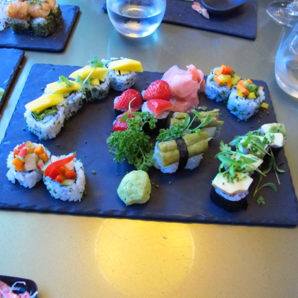 Amazing fusion sushi @sushic