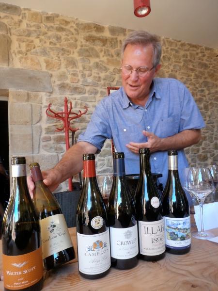 Russell Raney nous présente les vins. Photo©MichelSmith