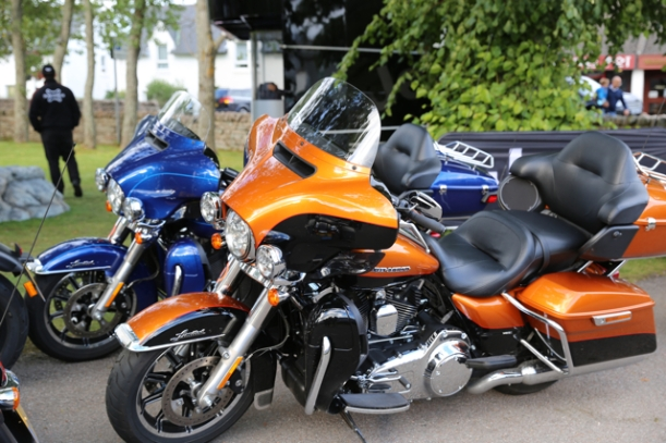 A couple of lovingly cared for Harleys @Aviemore