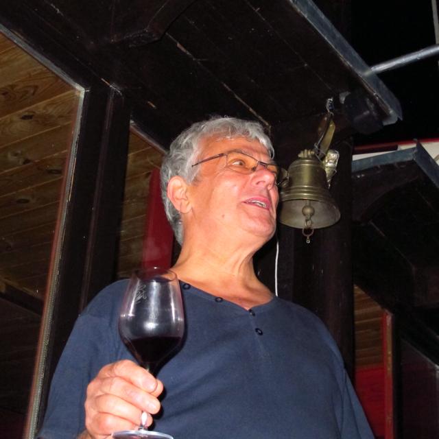 François retired master baker now responsible for organising all the baking involved for Les Grands Tablées