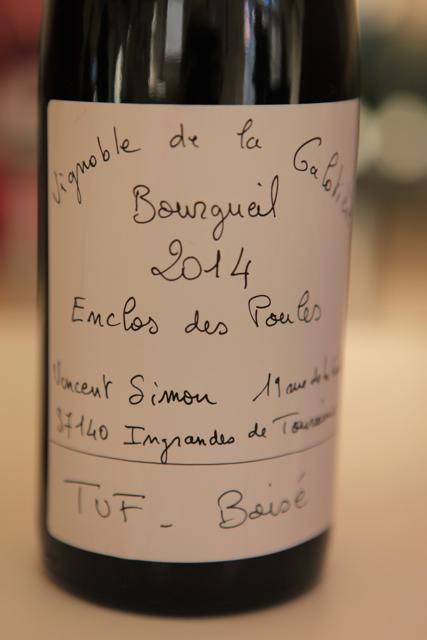 2014 Bourgueil, L'Enclos des Poules, Vincent Simon