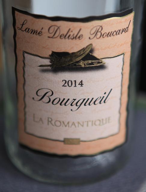 2014 Bourgueil Rosé, Lamé Delisle Boucard