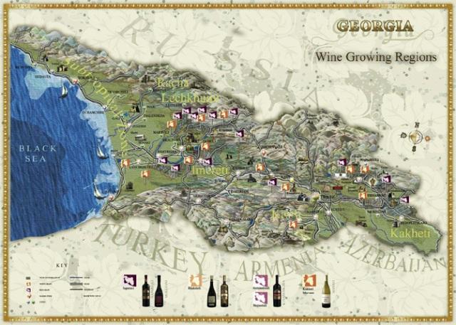georgian-map